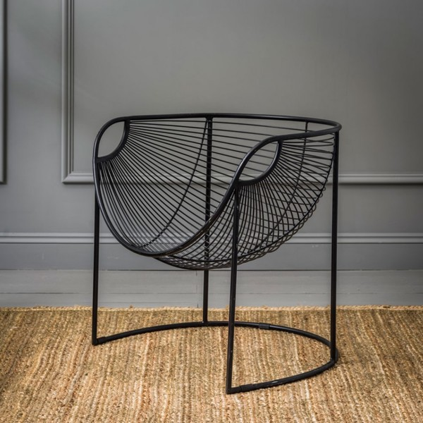 Incredible New York Contemporary Glam Metal Accent Chair Black Andrewgaddart Wooden Chair Designs For Living Room Andrewgaddartcom
